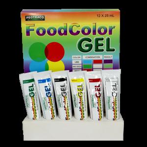 Food Color Gel